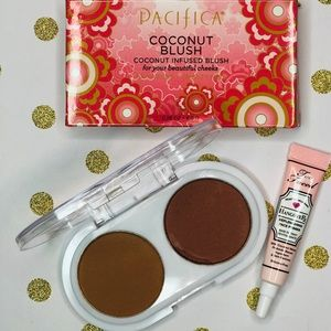 •Pacifica Coconut Blush Duo •too faced primer